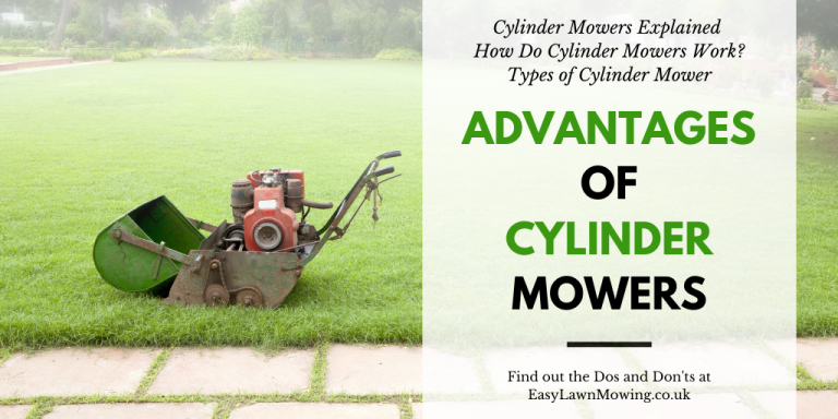 Advantages Of Cylinder Mowers