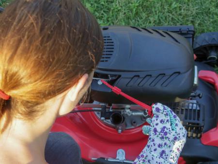 Advantages of Petrol Lawn Mower