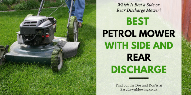 Best Petrol Mower with Side and Rear Discharge