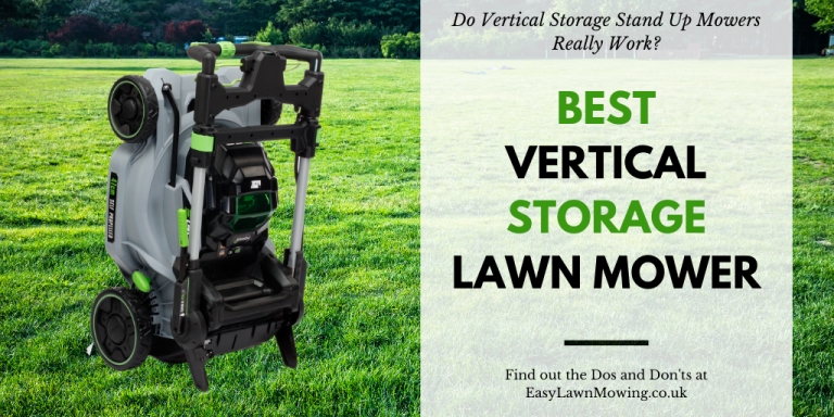 Best Vertical Storage Lawn Mower