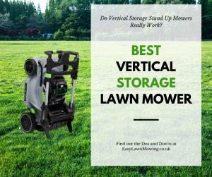 FB Best Vertical Storage Lawn Mower