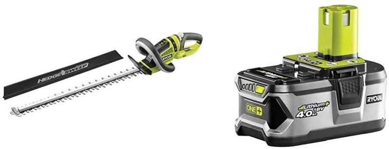 Ryobi OHT1855R ONE+ Cordless Hedge Trimmer Review