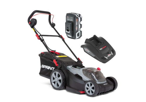 Sprint 370P18V Review 37cm Cordless Lawn Mower 2691749