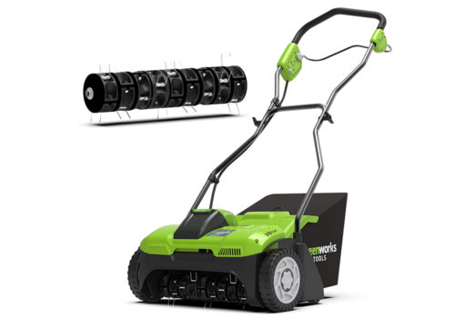 Greenworks Cordless Aerator G40DT35 Review