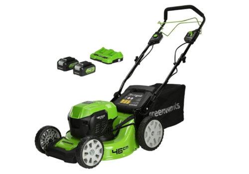 Greenworks GD24X2LM46SPK4X Review - 46cm Cordless Mower