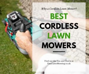 Best Cordless Lawn Mowers Link
