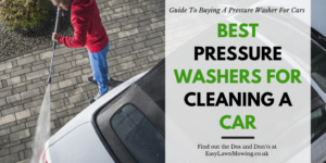 Best Pressure Washers for Cleaning a Car