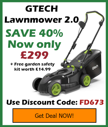 GTECH Lawnmower Discount