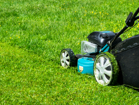 How To Mow Wet Grass