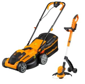 LAWNMASTER 24V LAWNMOWER AND TRIMMER