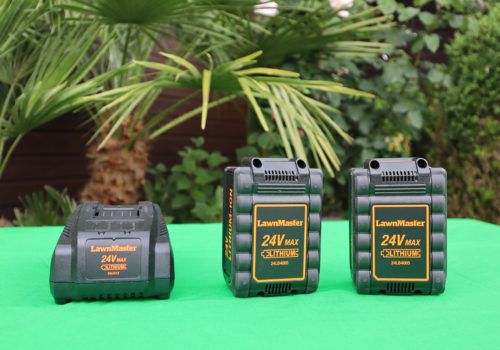 LawnMaster Power System and Battery