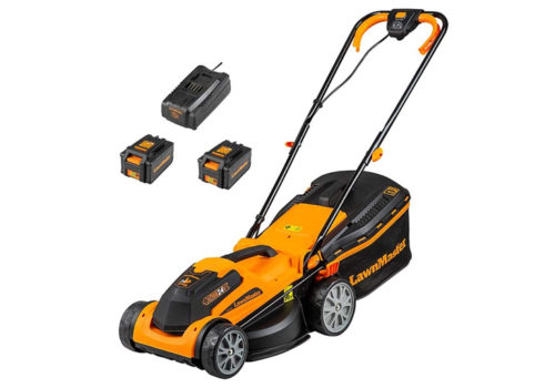 LawnMaster 34cm Cordless Lawn Mower Review CLMF2434G