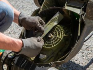 Preparing Your Mower For Winter