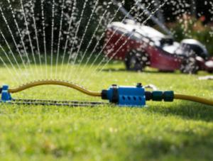 June Lawn Watering